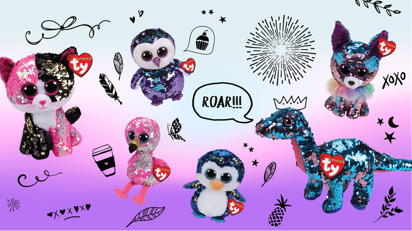 4482b79f40a Sequined Beanie Boos - Beanie Boo collection website!