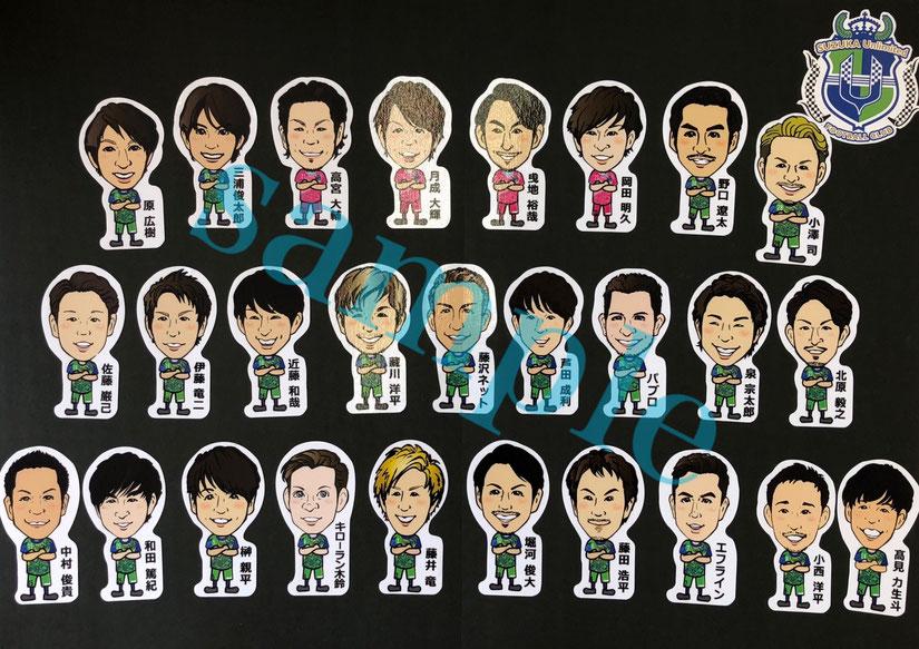 サッカーグッズー鈴鹿アンリミテッドFC-シール制作