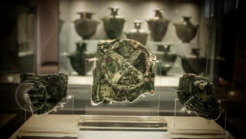 I frammenti del Meccanismo di Antikythera
