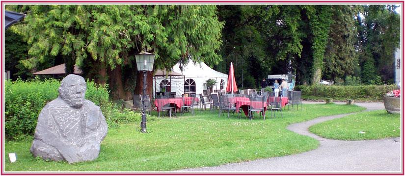 Burgpark Jagsthausen Region Heilbronn Baden-Württemberg
