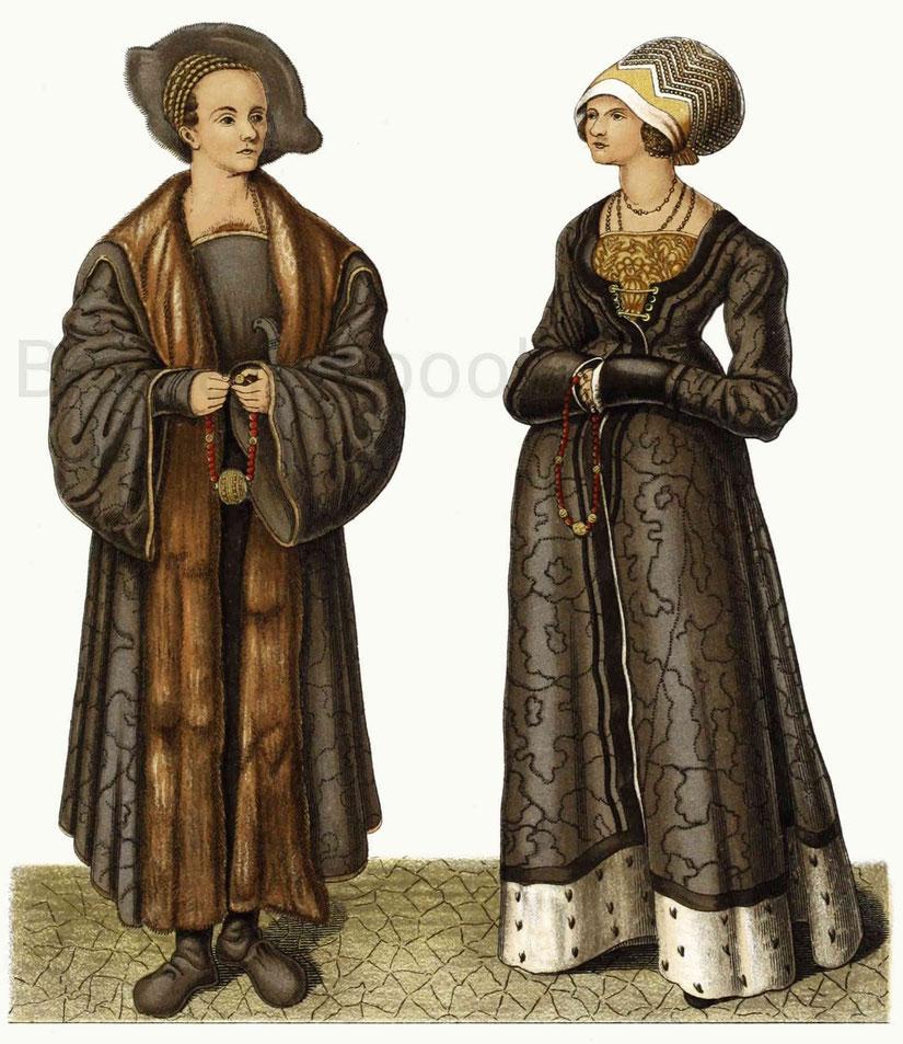Nikolaus Stahlburg mit seiner Ehefrau Margaretha