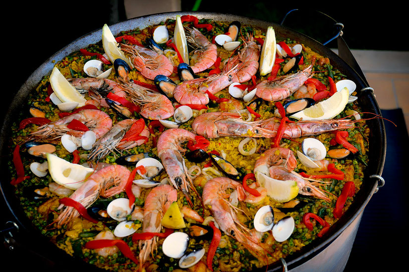 Paella, Catering, Amano Ses Salines Mallorca