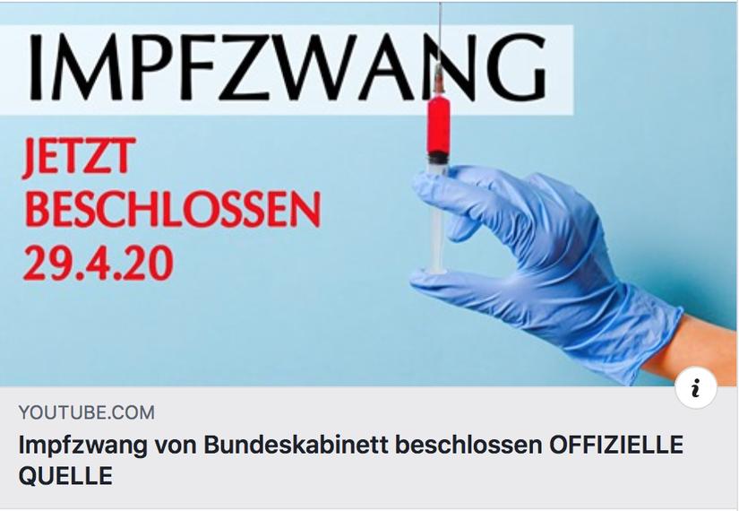 Impfzwang Bundeskabinett Beschlossen