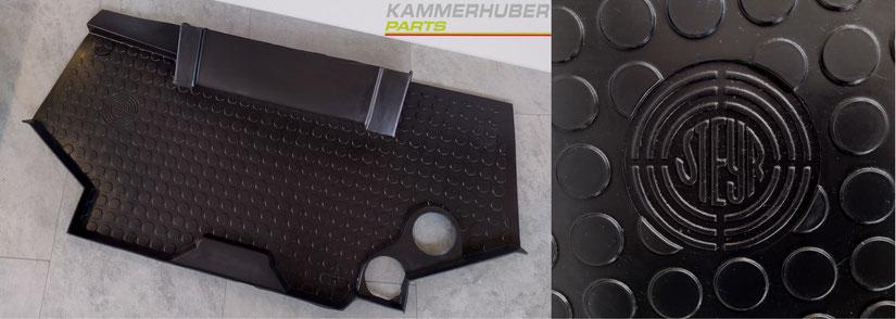 Original Bodenmatte für Steyr SK1, SK2 Kabine, 1-34-162-030