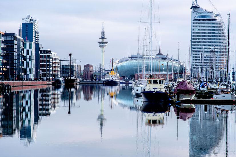 Stadtansicht von Bremerhaven. Bild von Harald Smith auf Unsplash.