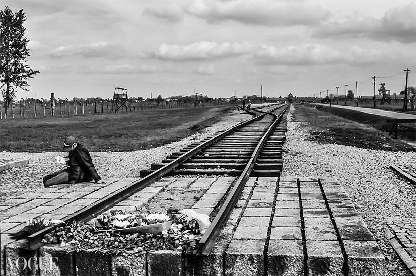 """""""...E Adesso Sono Nel Vento..."""",  Per Non Dimenticare: Auschwitz II - Birkenau, selezionato Photo Vogue Italia"""