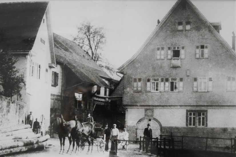 Untere Mühle in der Zeit vor dem Zweiten Weltkrieg