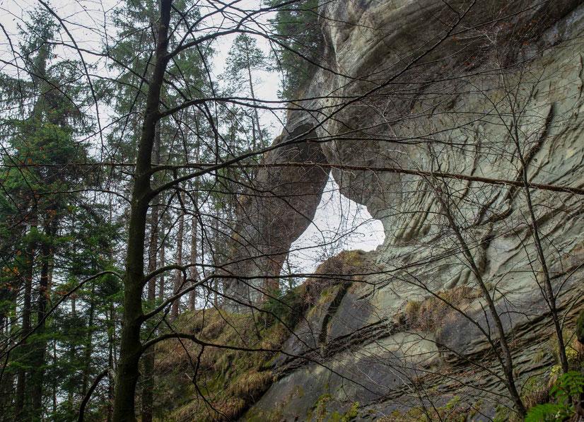Zwingherrenbogen Schlosschäle Hinterfultigen Kraftortwanderung