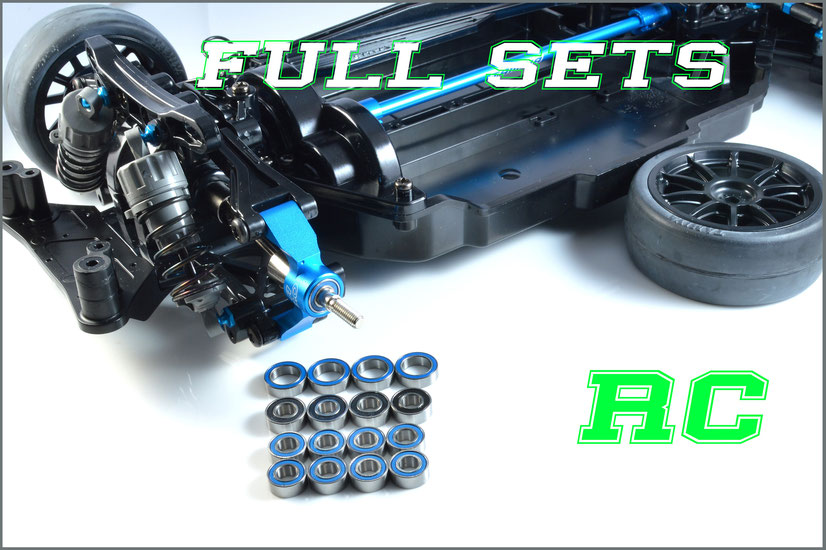 packs voitures RC modelisme acier ceramique pour tamiya kyosho serpent mugen 3racing losi associated