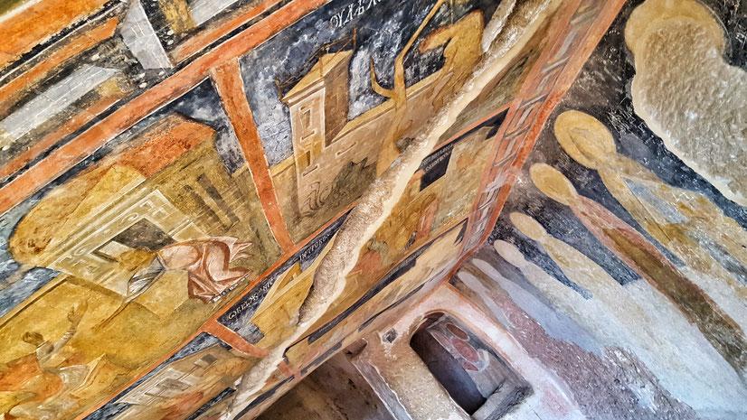 Chiese rupestri di Ivanovo, Rose - Bulgaria