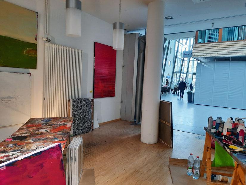Abstrakte rote Bilder