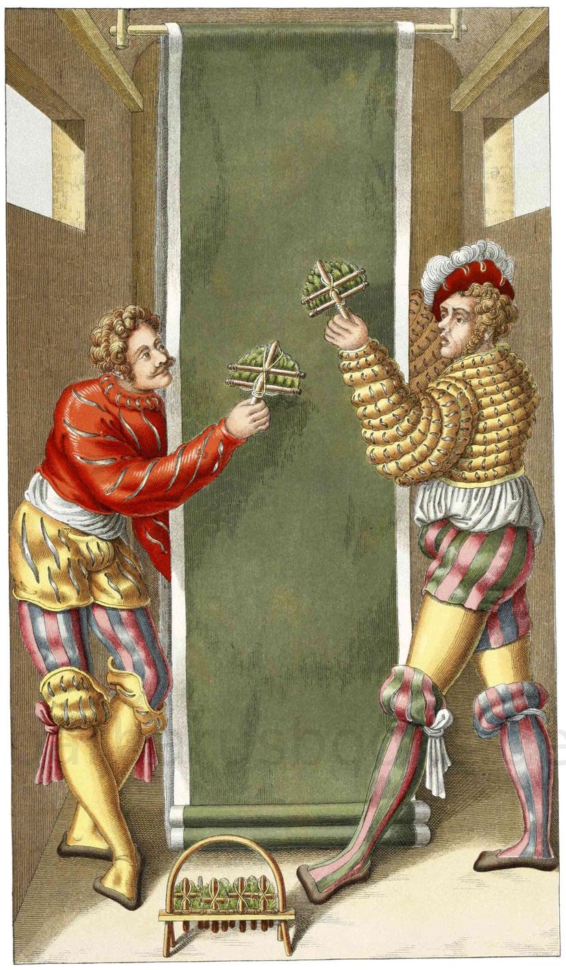 Tuchmacher aus der ersten Hälfte des 16. Jahrhunderts
