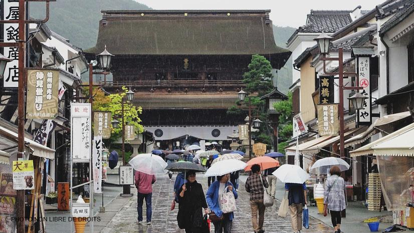 Temple Zenkô-Ji, Nagano