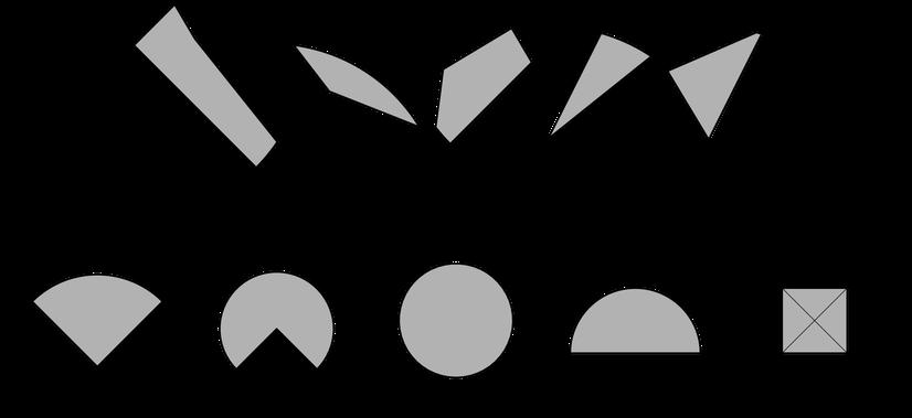 geometrische Figuren zusammensetzen