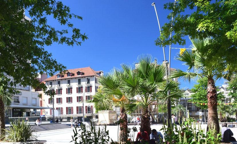 Le 5 Clemenceau - Gisèle & Alain Eman - Pau (64) - Locations saisonnières d'appartements meublés - Place Clemenceau à Pau