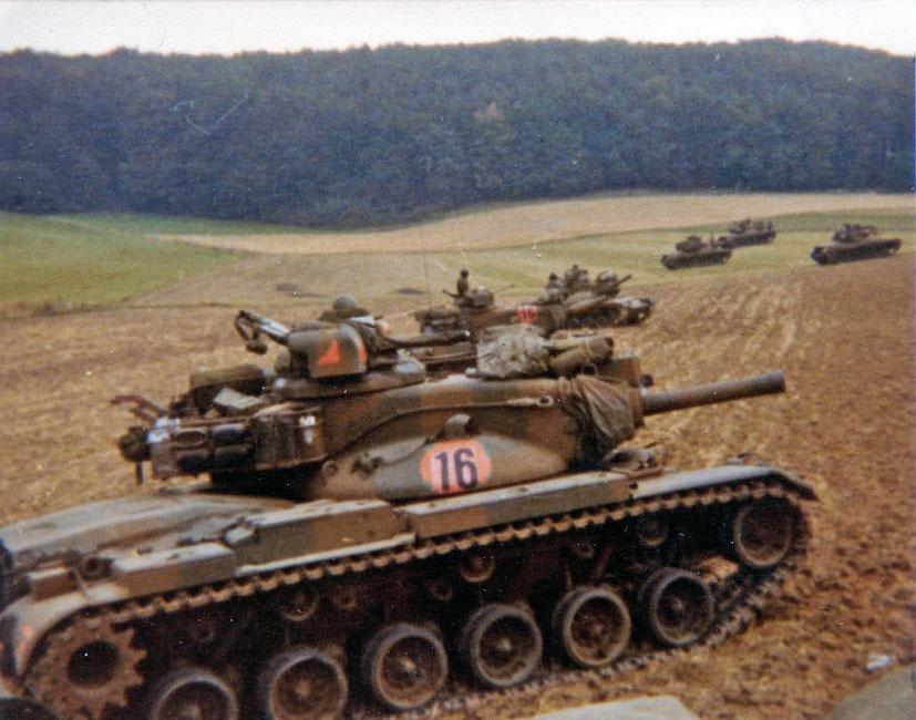 Une nouvelle tourelle est dessinée et donne un tout autre aspect au M60