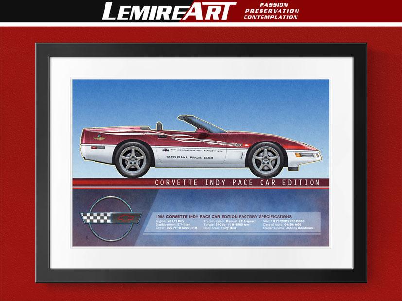 1995 Corvette Indy Pace Car