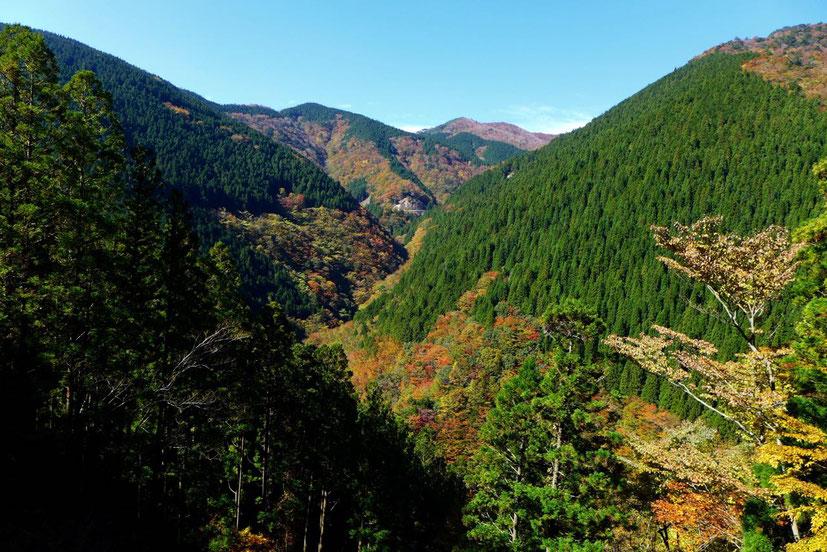 Spirituellen Kii-Berge auf dem Weg nach Koyasan Japan