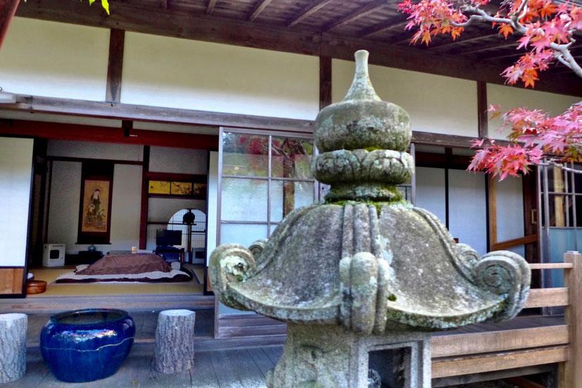 Kloster Tempelübernachtung im Kumagaiji in Koyasan Japan