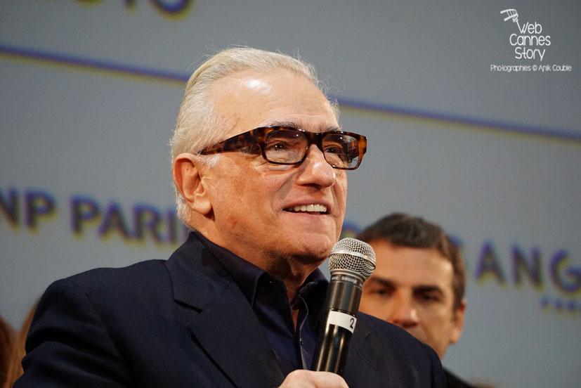 Martin Scorsese - Clôture du Festival Lumière 2015 - Lyon  - Photo © Anik COUBLE