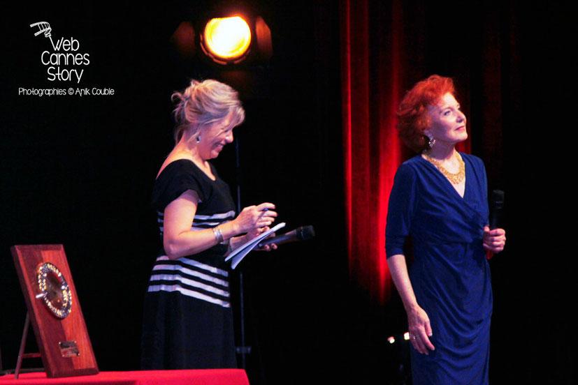 Marisa Paredes, lors de  la remise du Prix Lumière à Pedro Almodovar - Festival Lumière - Lyon - Oct 2014 - Photo © Anik COUBLE