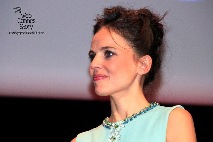 Elena Anaya, lors de la remise du Prix Lumière à Pedro Almodovar - Festival Lumière - Lyon - Oct 2014 - Photo © Anik COUBLE