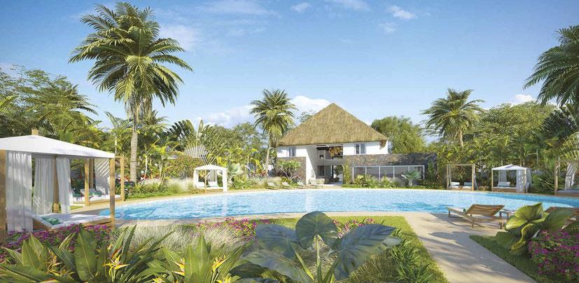complexe avec Conciergerie à l'île Maurice Domaine de Mahé