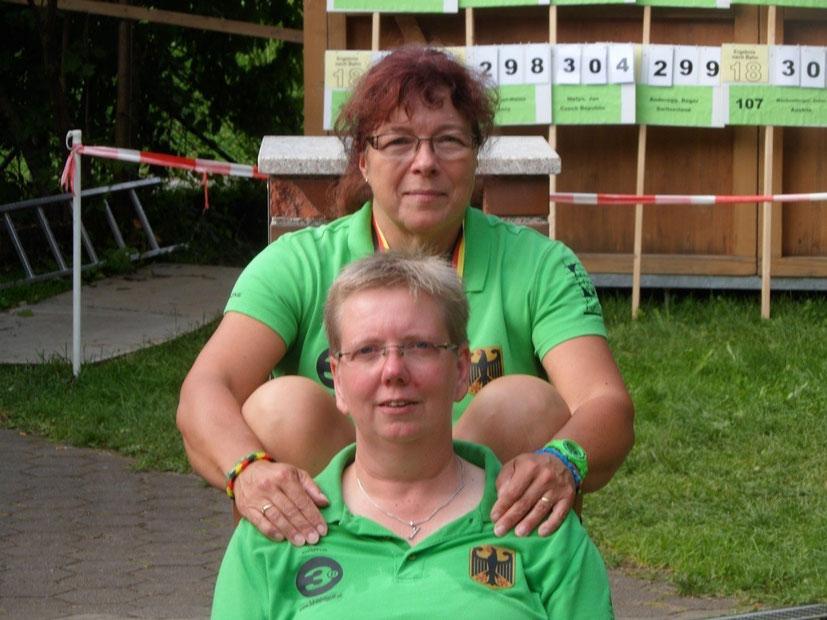 Andrea Reinicke (oben) und Nicole Warnecke