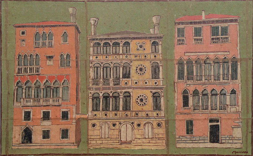 Canal Grande - Palazzo Dario