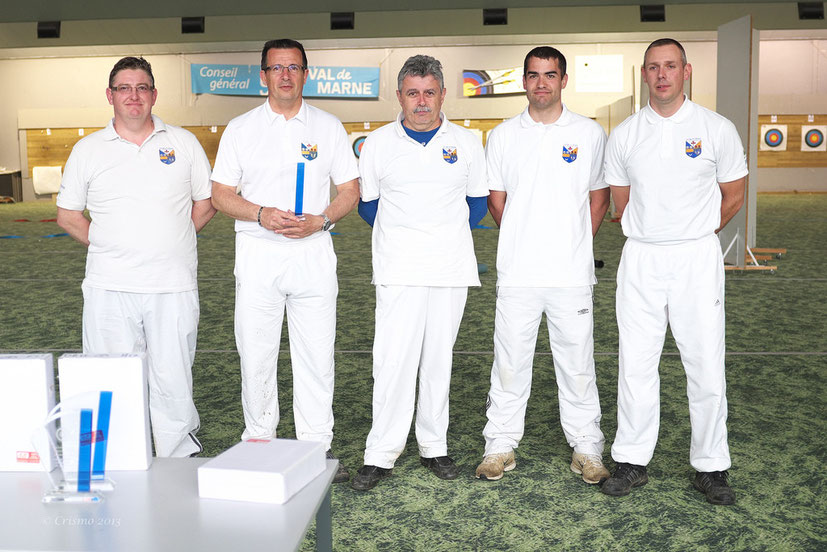 Jean-Luc CLERC, François PIET, Bernard Airoldi,Julien BOUDIN et Stéphane CORET