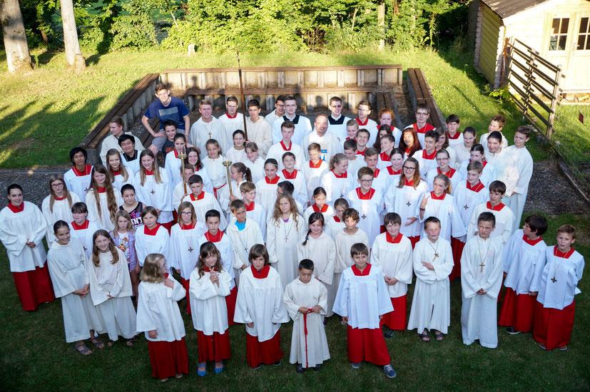 Messdiener der Pfarreiengemeinschaft Beckingen