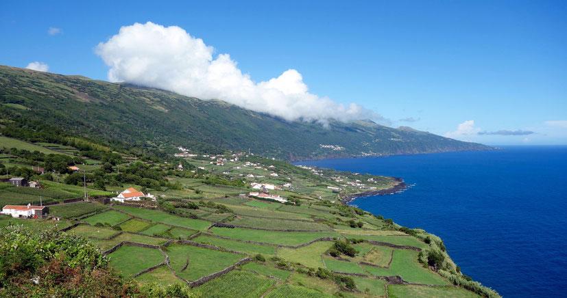Azoren, Insel Pico, Zentralgruppe, Küste, Atlantik