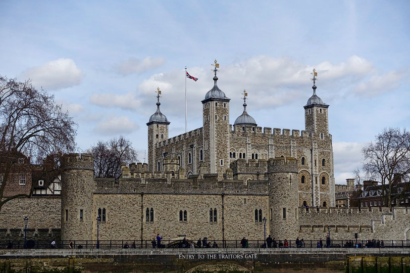 Die 17 UNESCO-Weltkulturerbestätten in England: Tower of London