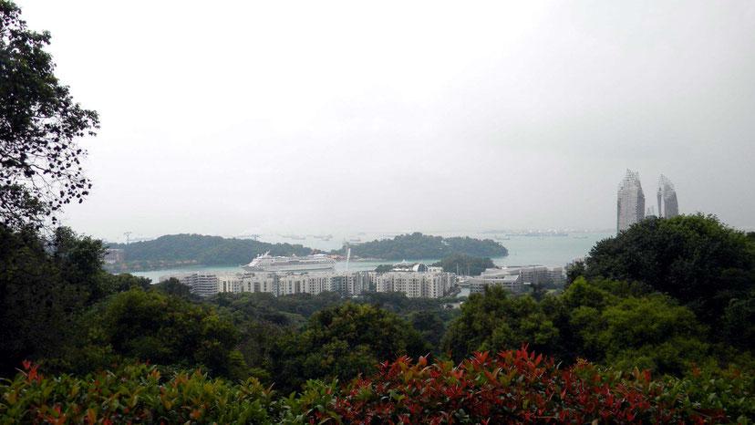 Blick vom Mount Faber