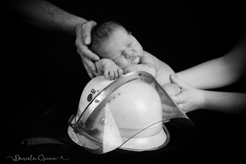 Feuerwehrnachwuchs Newbornshooting 2018