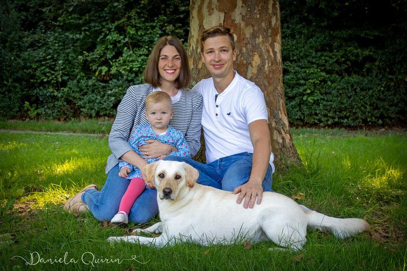 Familienshooting mit Hund 2019