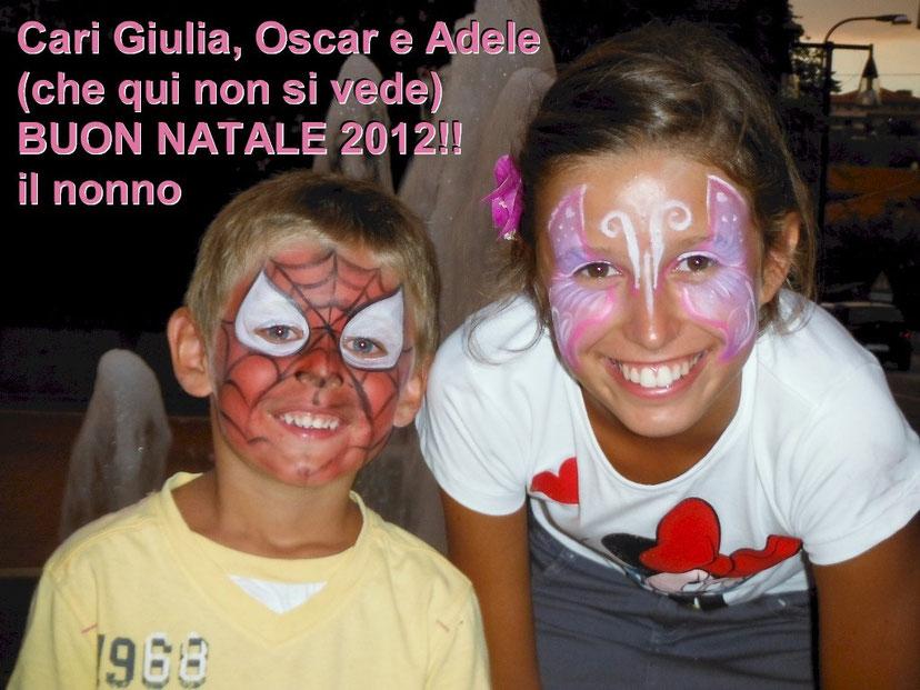 I miei nipoti Oscar e Giulia