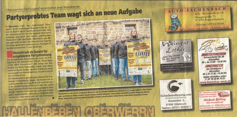 10.04.2019   Schweinfurter Anzeiger