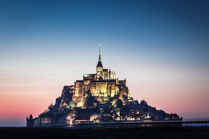 Normandie - Mont-Saint-Michel :: Copyright Martin Schmidt, Fotograf für Schwarz-Weiß Fine-Art Architektur- und Landschaftsfotografie aus Nürnberg