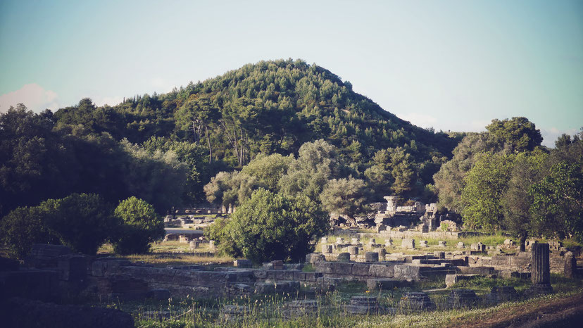 olympie grèce péloponnèse bigousteppes site antique