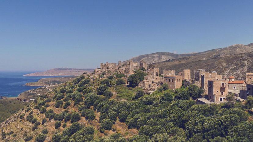 bigousteppes grèce balkans magne péloponnèse village