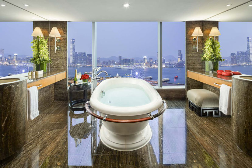 Mandarin Oriental Hong Kong Harbour View Suite