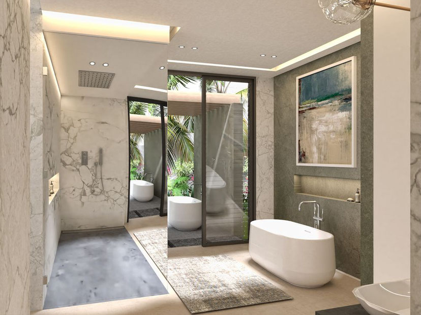 nouveau programme résidence MIRARI PDS de 8 villas de luxe à l'île Maurice