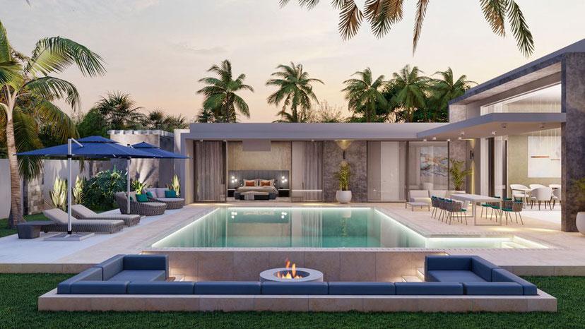 nouveau programme PDS MIRARI de 8 villas de luxe à l'île Maurice