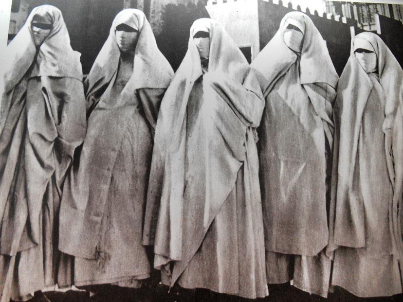 Donne berbere Rifain, regione di Chefchaouen (Marocco)