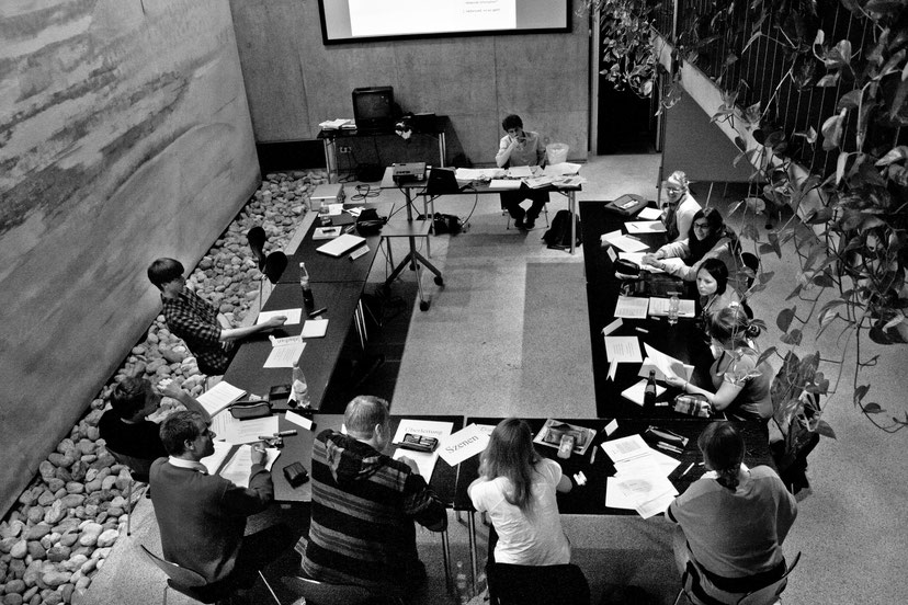 "Workshop ""Königsdisziplin Reportage"",  27.- 29.5.2011 in Dachau,  Foto: Martin Winter"