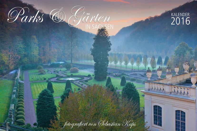 Kalender, Parks und Gärten in Sachsen, Sebastian Kaps, Saxony