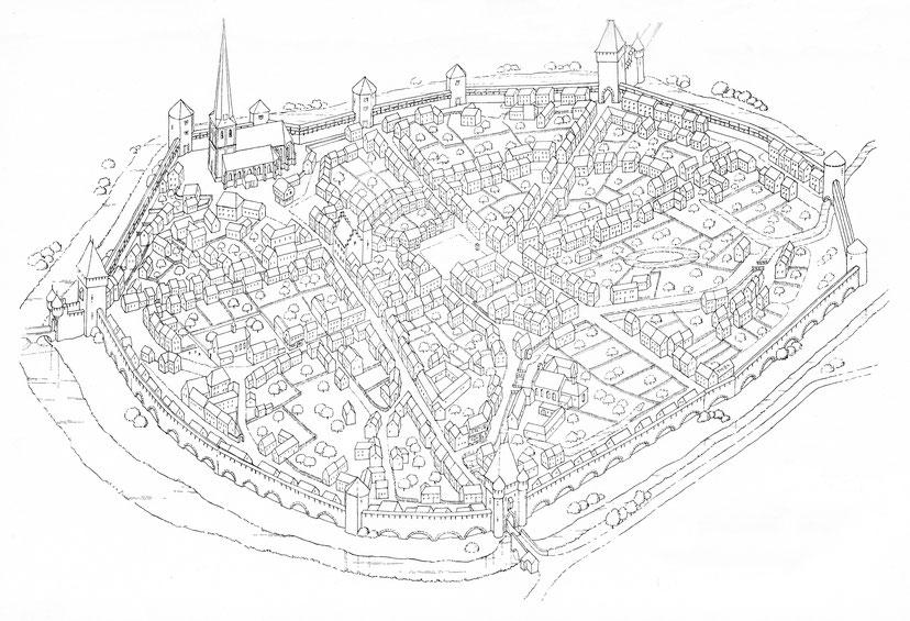 Stadtplan von Euskirchen nach Tollmann