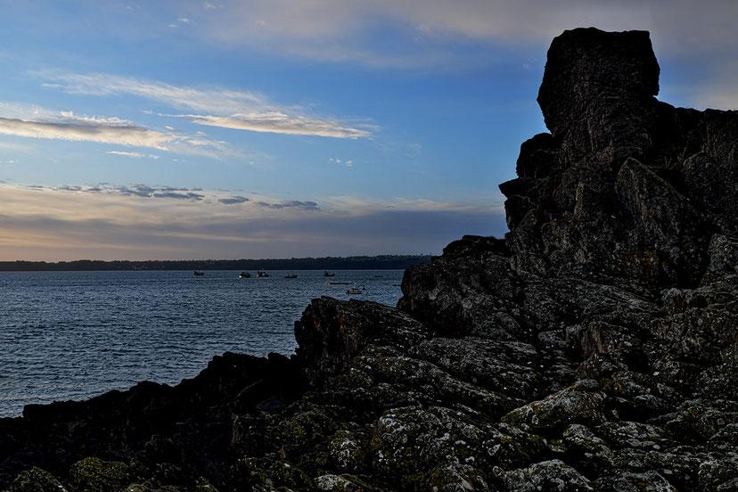 Mathieu Guillochon, photographe, rivages, couleurs, mer, côtes d'armor, bretagne, Paimpol, rochers, pointe de la Trinité, ostréiculteurs, couleurs, rivages, marée haute