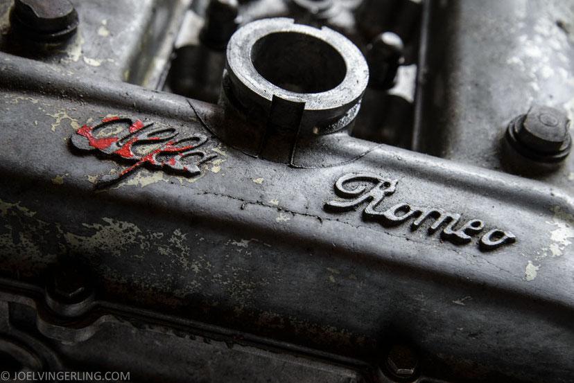 alfa, romeo, engine, vintage